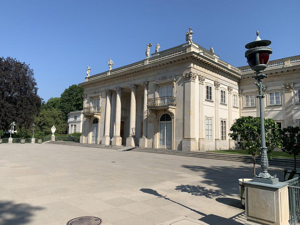 Park in Warschau